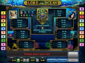 lord of the ocean spielautomat online spiele