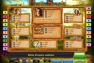 mystic secrets spielautomat online spiele