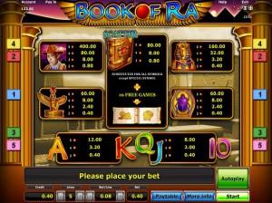 book of ra spielautomat online spiele