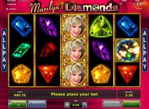 marilyn diamonds spielautomat online spielen
