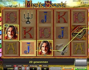 mystic secrets spielautomat online spielen