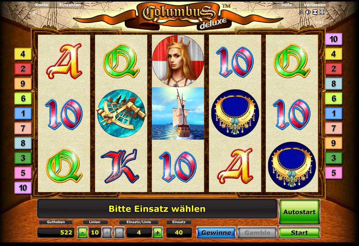 columbus spielautomat online spielen